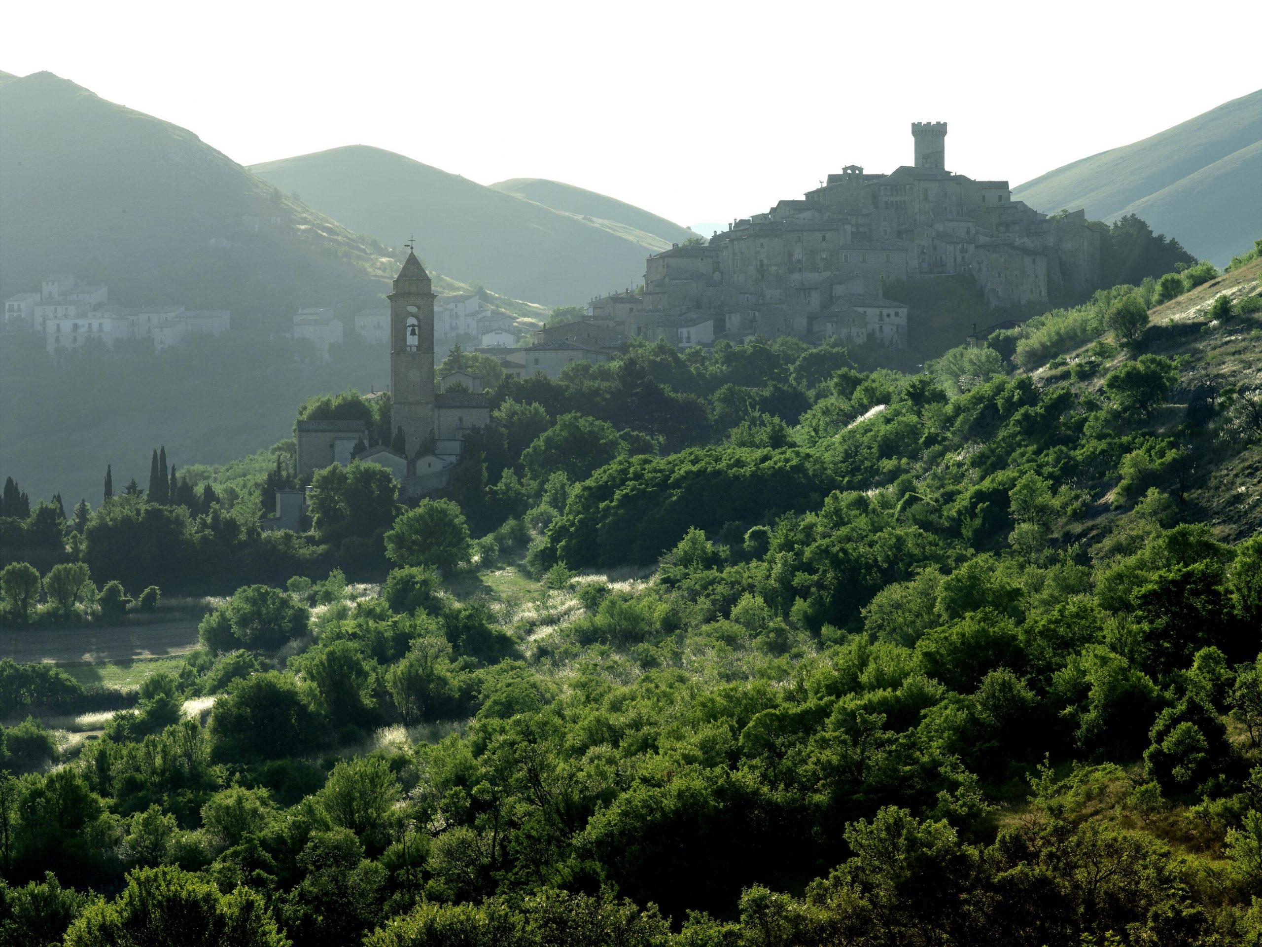 Santo Stefano di Sessanio – odmor na srednjevekovni način